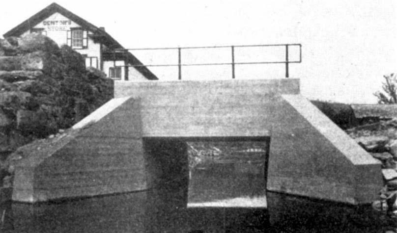 Rail-Concrete Masonry on the New York Ontario & Western